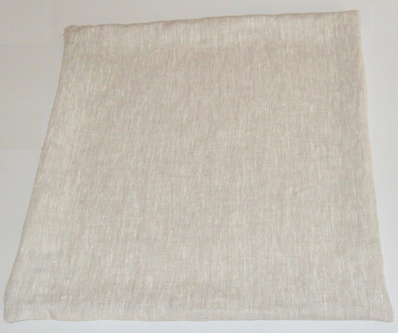 Handmade Linen Pillow Cover Natural Linen Choice of Sizes