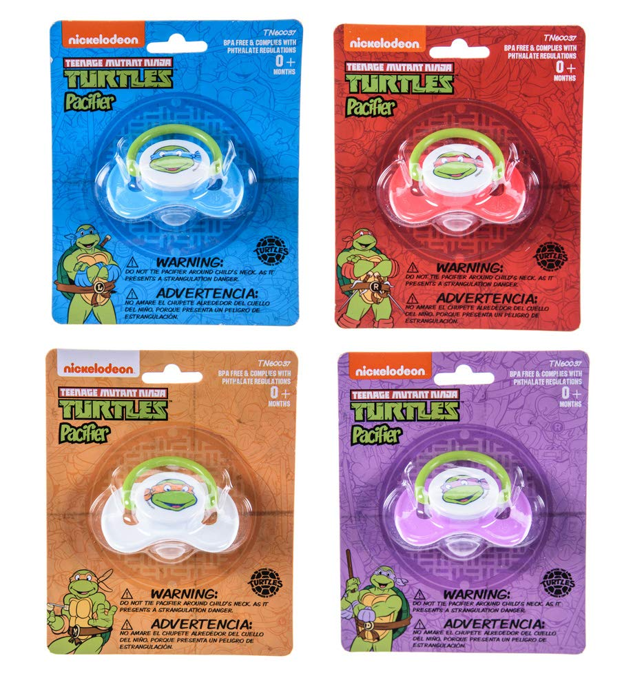 Amazon.com: Nickelodeon Teenage Mutant Ninja Turtles Chupete ...