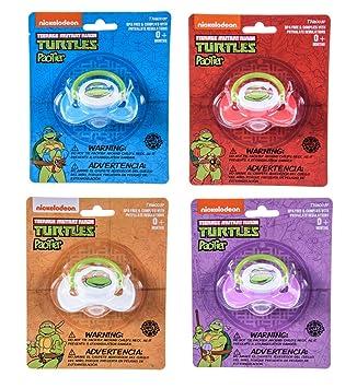 Amazon.com: Nickelodeon Teenage Mutant Ninja Turtles Chupete ...