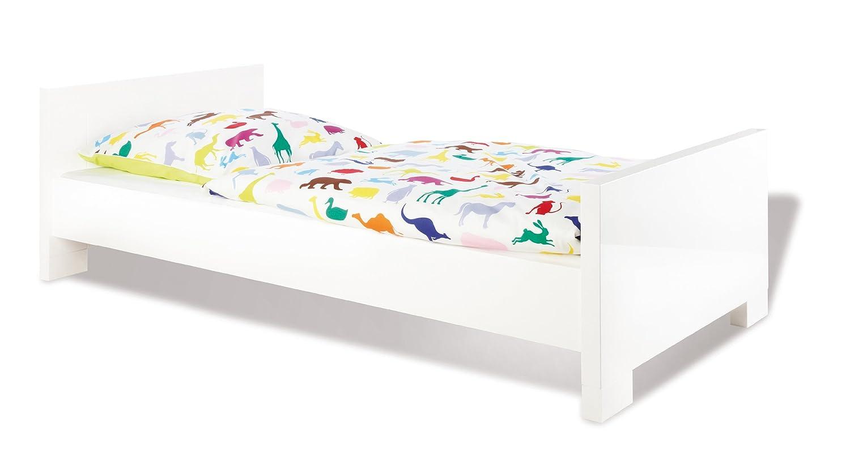 Pinolino Kinderbett Jugendbett Weiß Hochglanz: Amazon.de: Küche ...