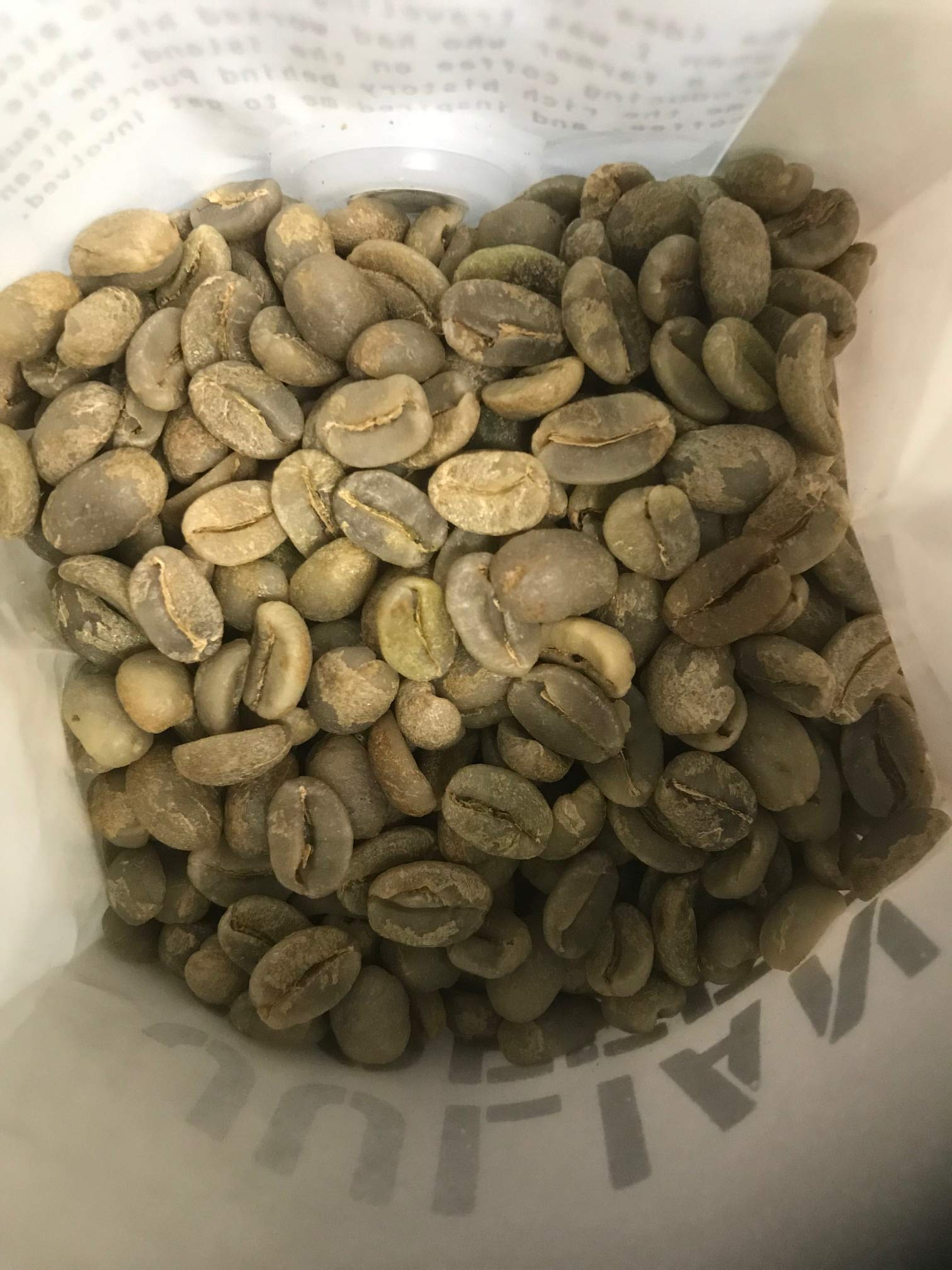 Julian Coffee - Unroasted AA Specialty Puerto Rican Green Coffee Beans, Shade Grown on a Family Farm, Single Origin, 24 oz Bag, Altitude 2300 ft
