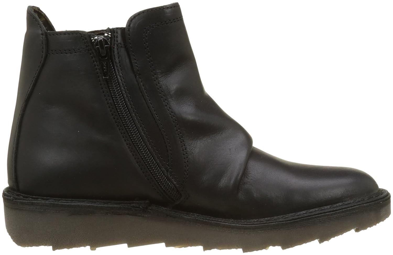 Adit951fly, Desert Boots Femme, Noir (Black), 38 EUFLY London