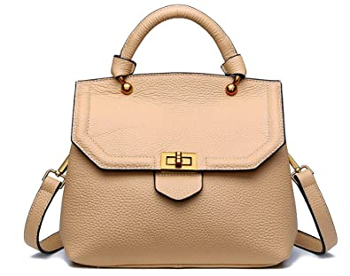 Women's Fashion Leather Messenger Handbags Simple Shell Shoulder ...