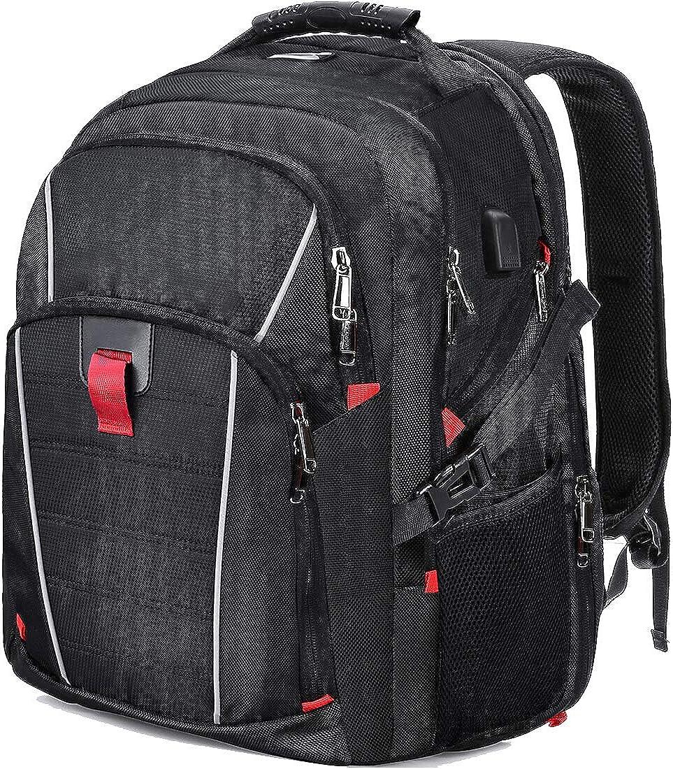 Laptop Backpack Large Travel Backpack Men Waterproof Computer Backpack Bookbag