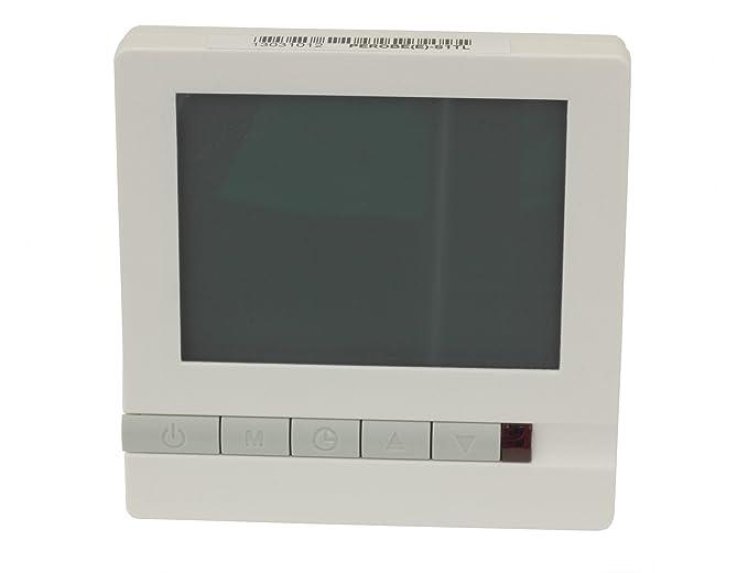 Digital Termostato para suelo radiante eléctrico