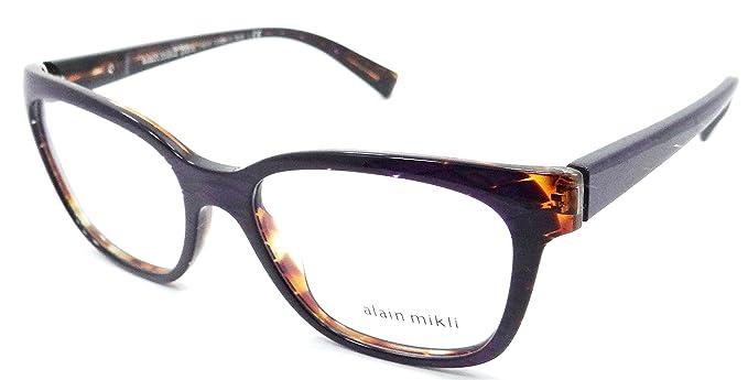 f9c45d14541 Amazon.com  Alain Mikli Rx Eyeglasses Frames A03035 E012 53x17 ...