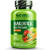 NATURELO Bariatric Multivitamin One Daily with 36 mg Iron - Best Supplement for Post Gastric Bypass Surgery Patients…