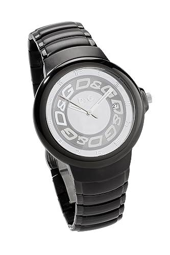 Dolce & Gabbana - Reloj de Caballero, Correa de Acero Inoxidable - Color Negro