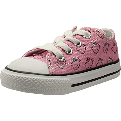 7c2c900ba51f Converse Chuck Taylor All Star Hello Kitty Ox Prism Pink White Textile 6 M  US