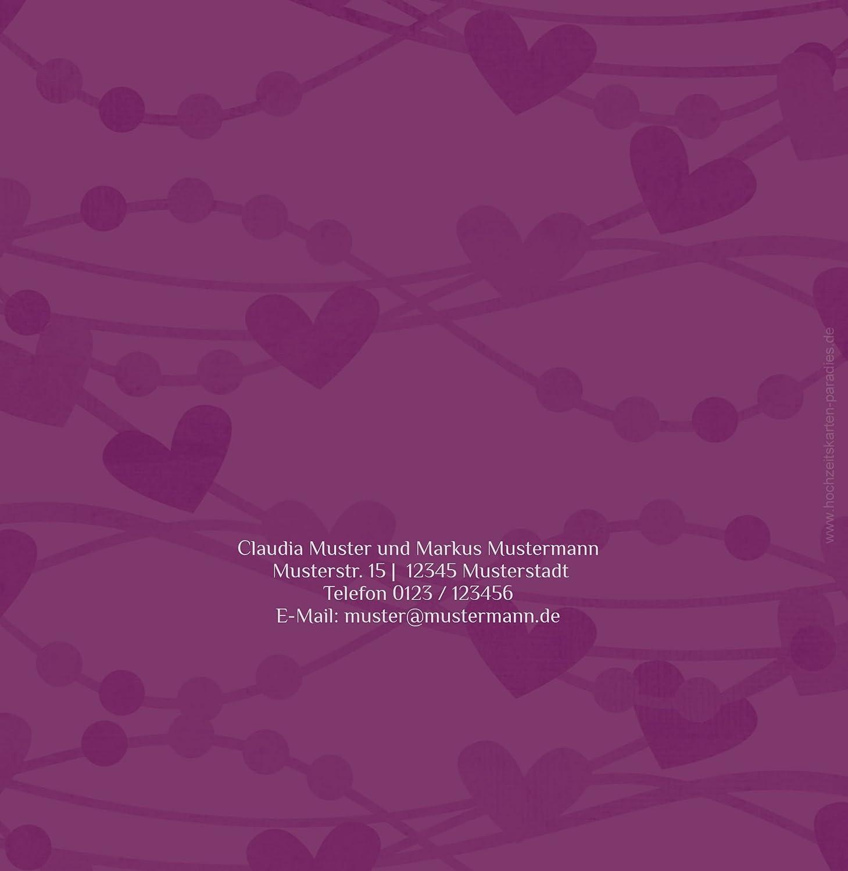 Kartenparadies Hochzeitskarte Einladung Im Zeichen der Liebe, hochwertige hochwertige hochwertige Einladung zur Heirat inklusive Umschläge   10 Karten - (Format  145x145 mm) Farbe  DunkeltiefBlau B01N4Q7ZPK | Günstige Bestellung  | Modern Und Elegant In Der Mode  | Lebens 1d392b