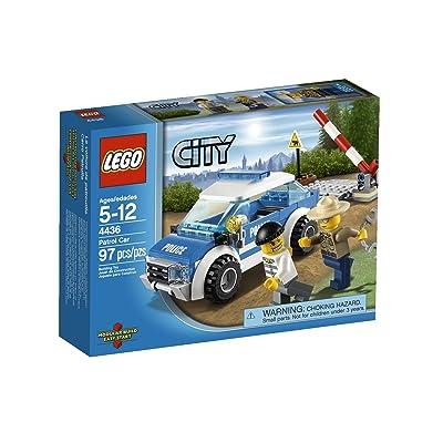 LEGO City Police Patrol Car 4436: Toys & Games