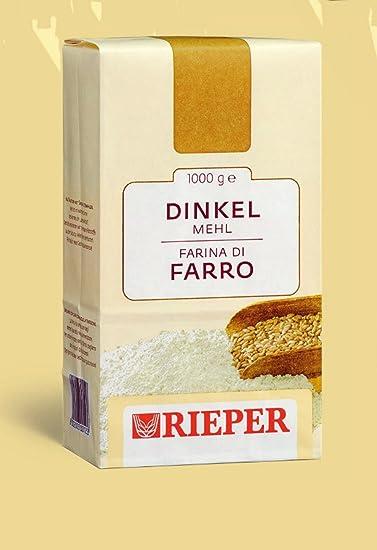 Dinkelmehl Rieper 1 kg.: Amazon.es: Alimentación y bebidas