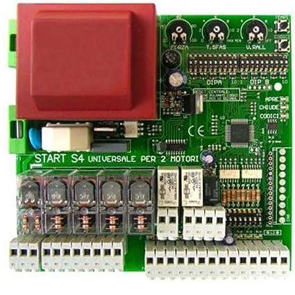 Schema Elettrico Per Automazione Cancello : Scheda centrale universale per cancelli automatici battenti a