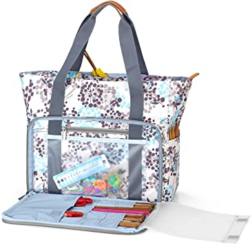 Teamoy Knitting Bag, Knitting Needles and Accessories