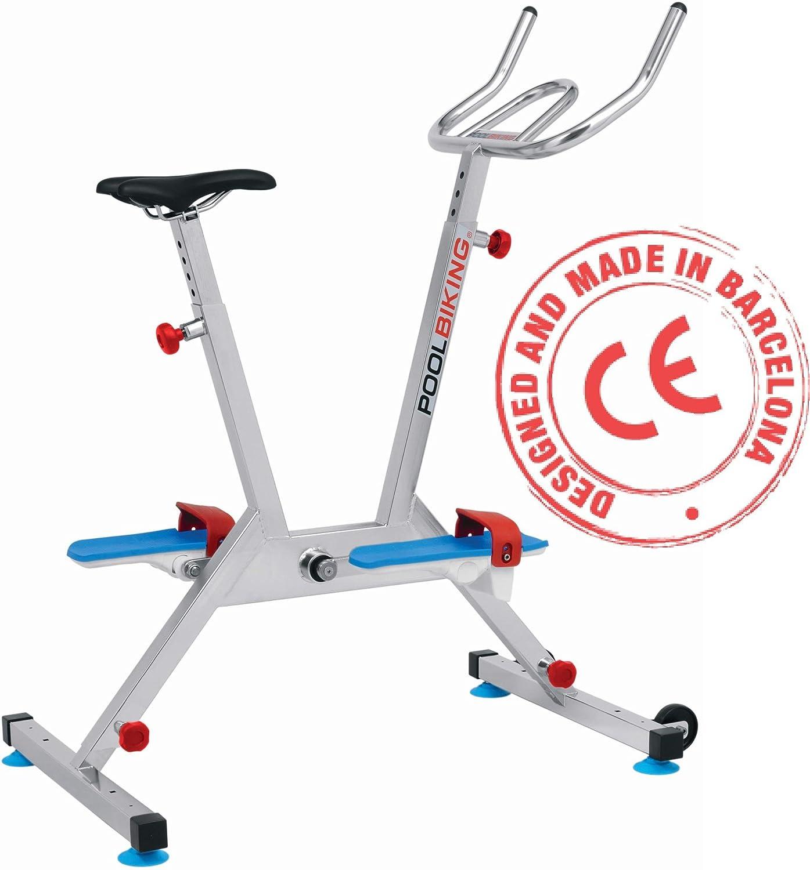 POOLBIKING One Plus,Aquabike, Aquabiking, Bicicleta para Spinning aquático.: Amazon.es: Deportes y aire libre