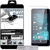 Film Protecteur d'écran en VERRE TREMPE pour Microsoft Lumia 550 Ultra Transparent Ultra Résistant INRAYABLE INVISIBLE