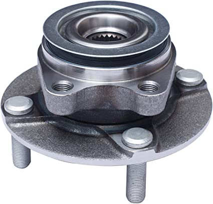 DRIVESTAR 513308 Front Wheel Hub /& Bearing Assembly fit for Nissan Versa 2007 08 09 10 11 2012 4 Lugs Non-ABS Pair