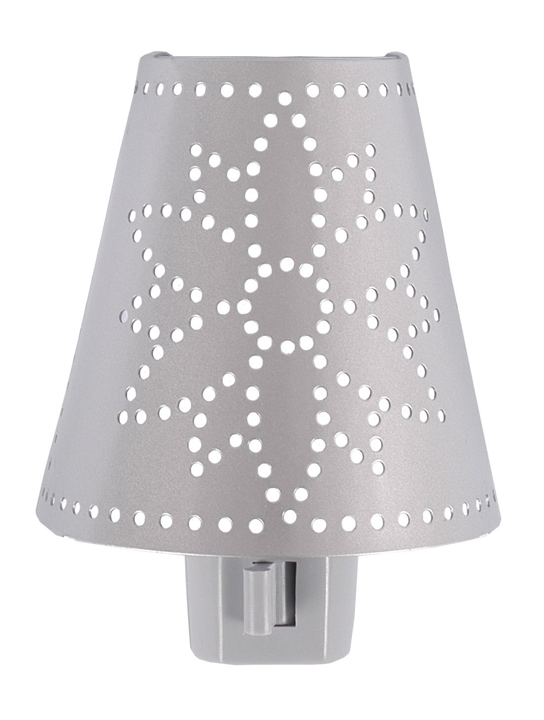 GE Metal Shade With Flower Design Incandescent Night Light 51386