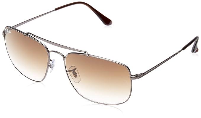 Ray-Ban RAYBAN 0RB3560 004 51 61 Montures de lunettes Homme, Gris ... f6dca6bea05a