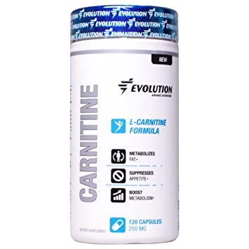 Evolution Advance Nutrition Fermented L-carnitine L- tartrate capsules (120 vegetarian capsules)