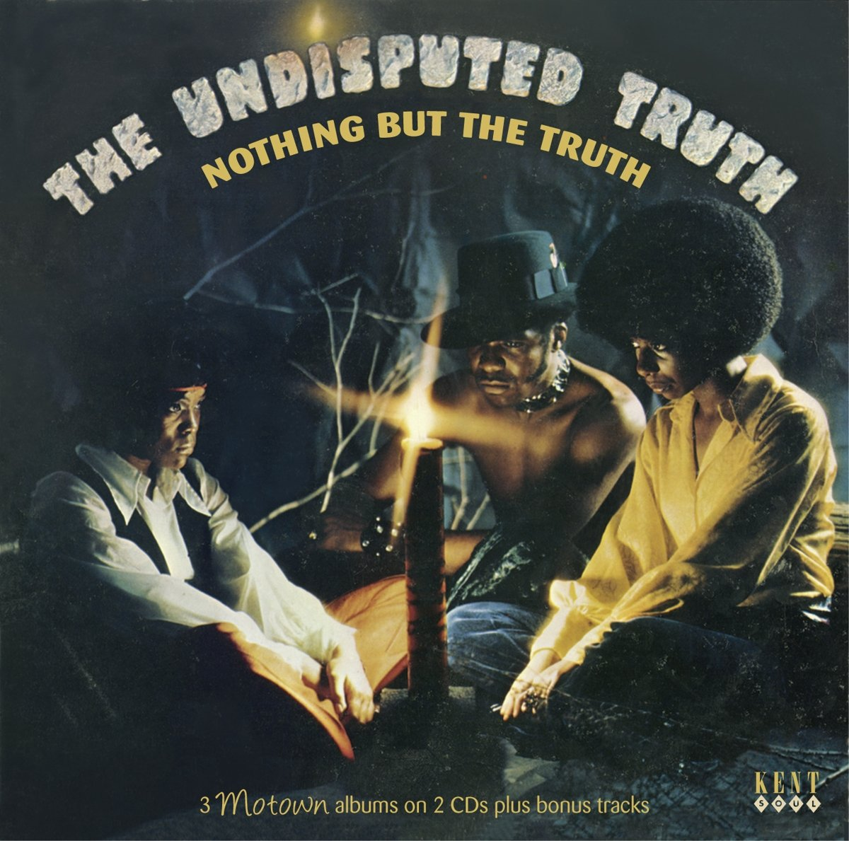 CD : The Undisputed Truth - Nothing But The Truth: 3 Motown Albums (Bonus Tracks, United Kingdom - Import, 2 Disc)