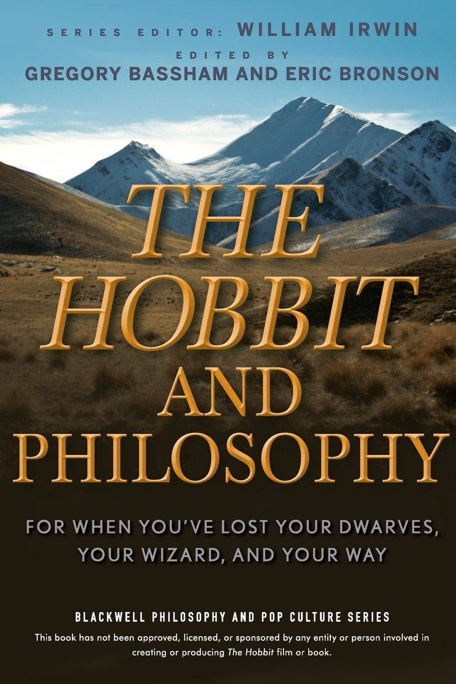 com the hobbit and philosophy for when you ve lost your com the hobbit and philosophy for when you ve lost your dwarves your wizard and your way 9780470405147 gregory bassham eric bronson