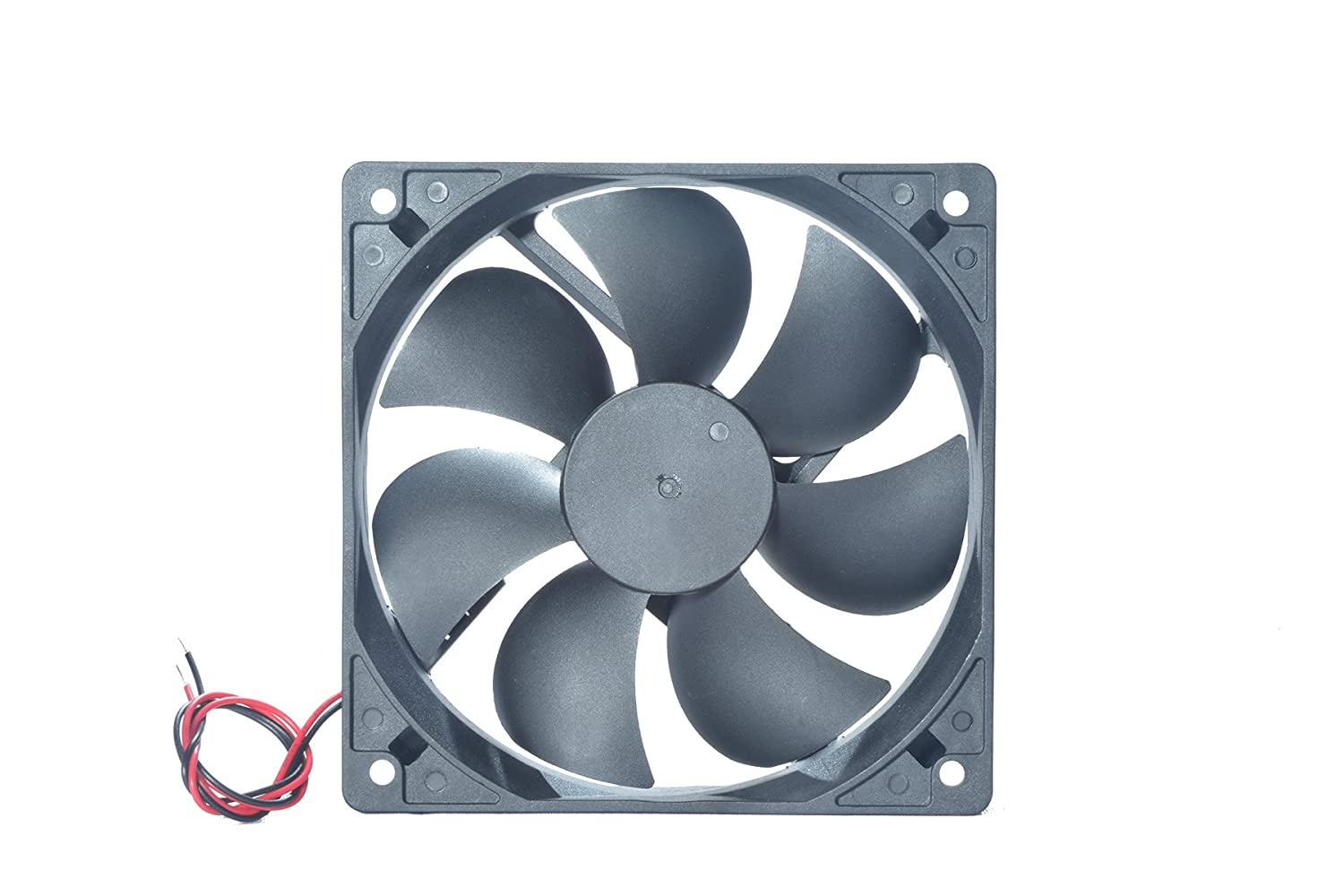 MAA-KU DC12025 Axial Case Cooling Fan. SIZE(12x12x2.5cm), SUPPLY VOLTAGE :  24VDC: Amazon.in: Computers & Accessories