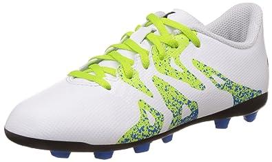 pretty nice ac3fd 8b9b5 adidas Unisex-Kinder X 15.4 FG J Fußballschuhe Weiß (Ftwr WhiteSemi Solar