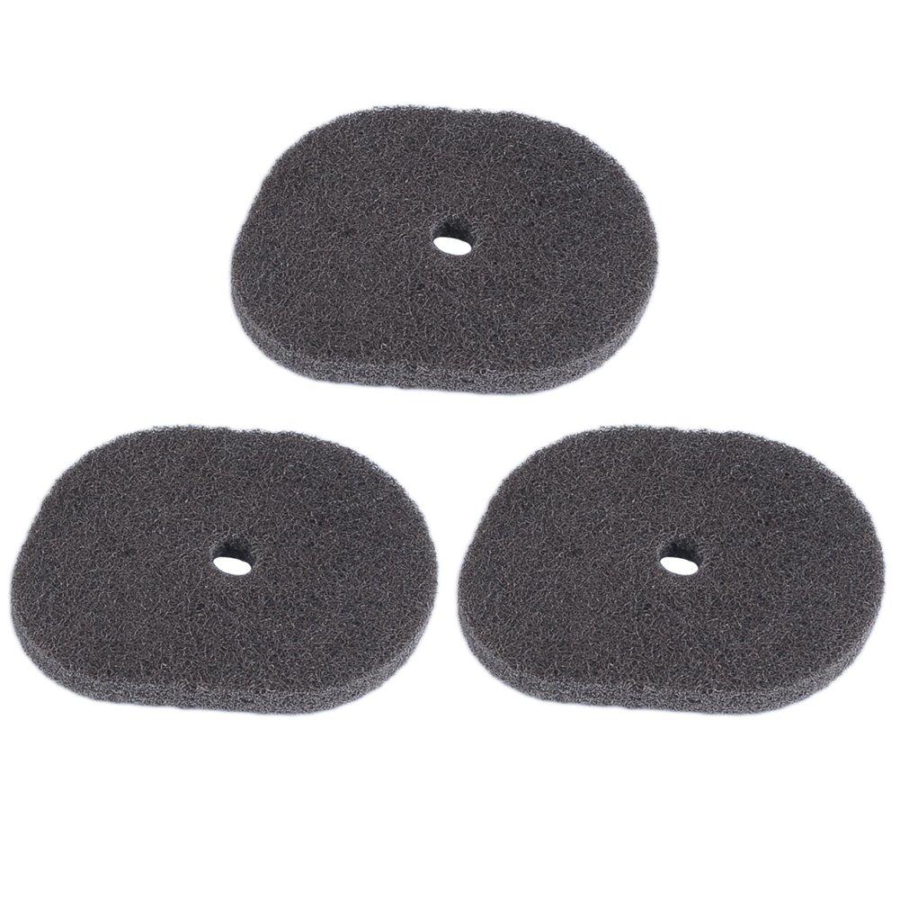 HIPA-Juego de 3 filtros de entrada de aire para desbrozadora ...