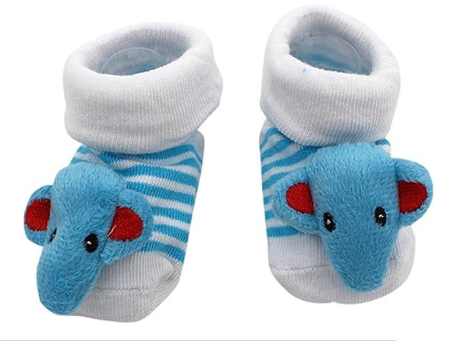 Inception Pro Infinite Calcetines antideslizantes - Niños - Bebé - 0-12 meses - Fantasía - Elefante celestial - Rayas - Hombre - Femina - Unisex ...