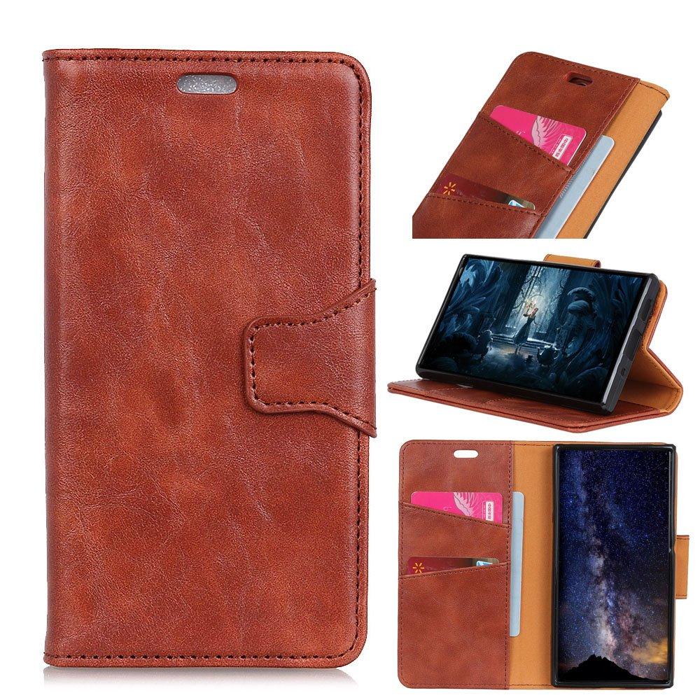 LG K8 2017 (European Version) Case,Phone Case Slim Case Compatible with Premium PU Leather Wallet Case Case Compatible with with Kickstand and Credit Card Slot Cash Holder Flip Case Compatible with