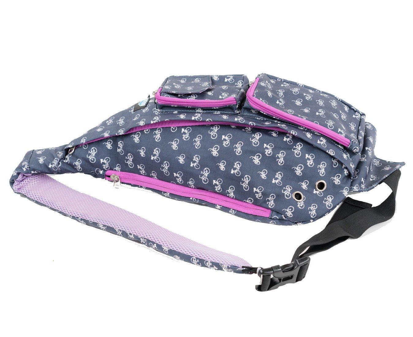 e8ee67f258e5 Meru Sling Backpack Bag - Small Single Strap Crossbody Pack for Women and  Men (Bike) - sling-backpack-rope-bag-bike   Casual Daypacks   Clothing