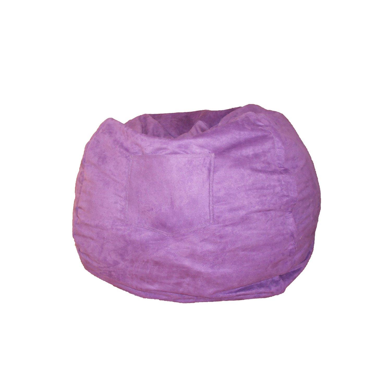 Fun Furnishings Beanbag Small Pink Micro Suede 30230