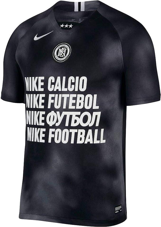 NIKE M Nk FC Ftbl JSY Away SS - Camiseta Hombre: Amazon.es: Deportes y aire libre