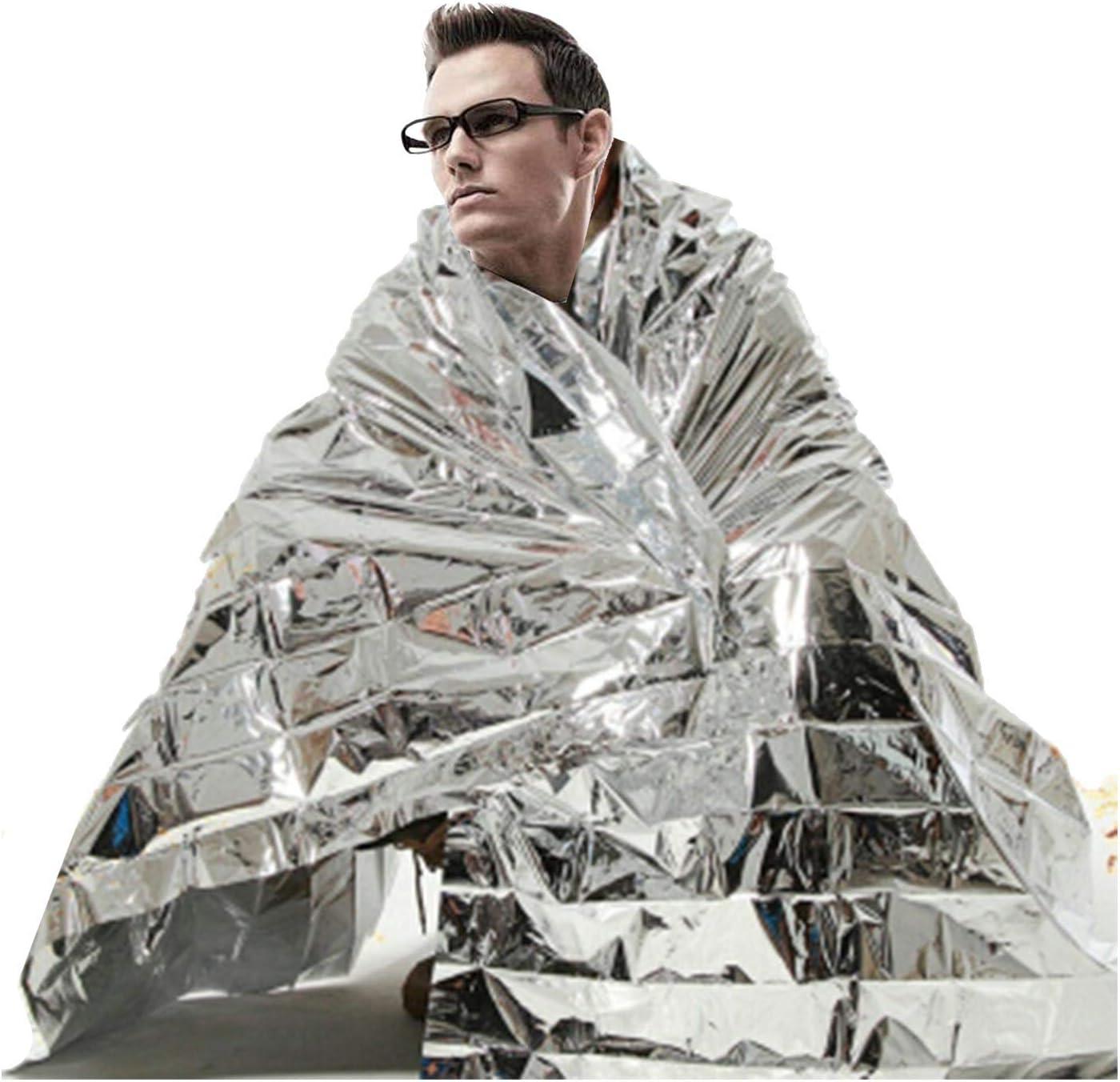 Grande urgence thermique Foil Blanket-Running Marathon Randonnée Camping First Aid