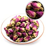 GOARTEA® 100g (3.5 Oz) Organic Red Rosebud Rose Buds Flower Floral Dried Herbal Health Chinese Tea