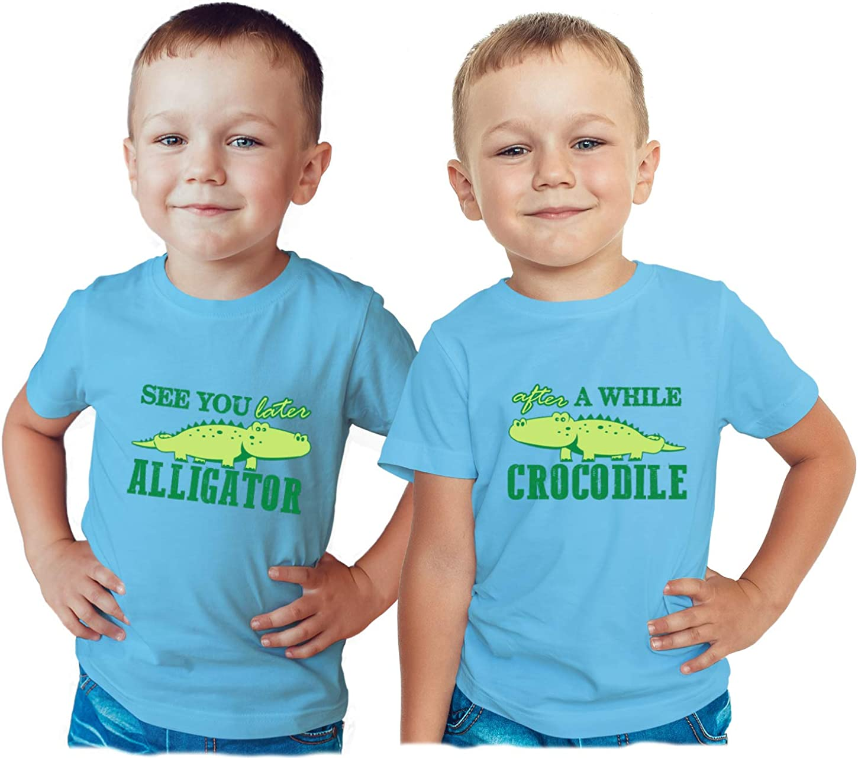 U.S Custom Kids See You Later Alligator Toddler T-Shirt