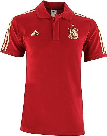 adidas - Polo De Hombre Selección Española De Fútbol 2014, Talla L: Amazon.es: Deportes y aire libre