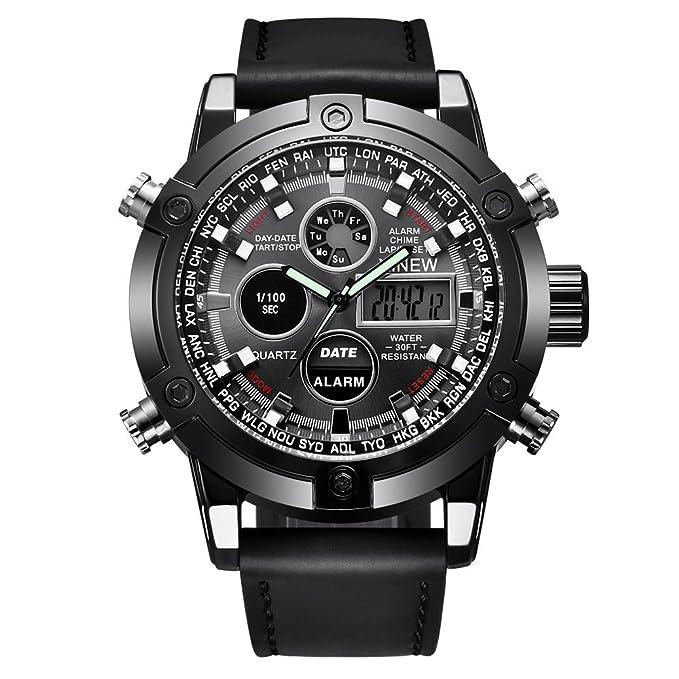 Dylung Reloj Deportivo para Hombre Smartwatch Reloj de ...