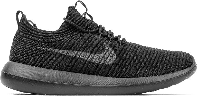 NIKE Nike Roshe Two Flyknit V2 para Mujer, Gris Oscuro