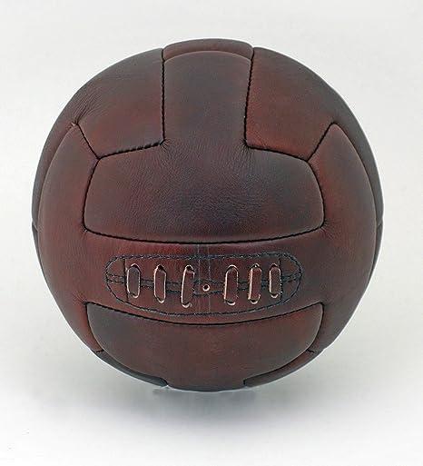 British Sports Museum - Balón de fútbol de Piel Estilo Vintage de ...