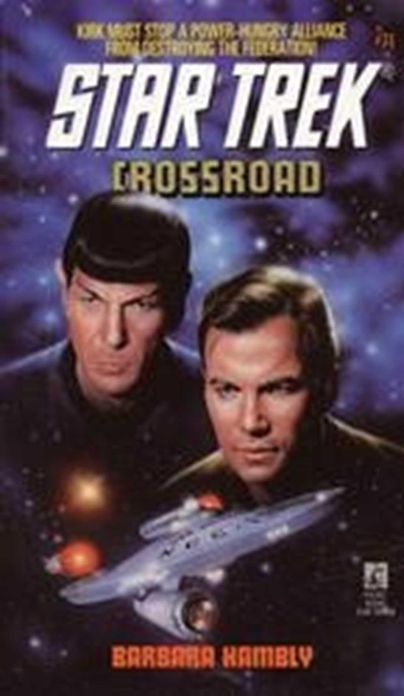 Crossroad  Star Trek  The Original Series Book 71   English Edition