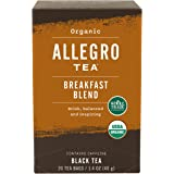 Allegro Tea, Organic Breakfast Blend Tea Bags, 20 ct