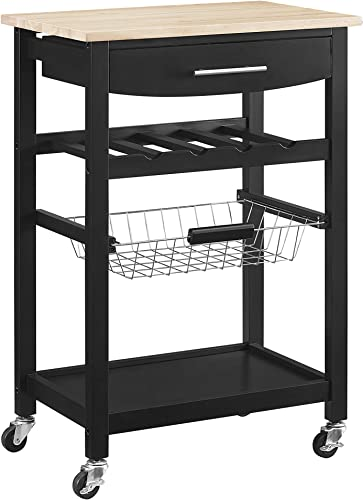 Linon Home Decor Products Pascal Kitchen Cart