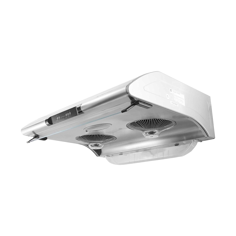 Vatti Auto Clean 6 Speeds Stainless Steel Under Cabinet 800cfm Range Automatic Hood With Home Kitchen