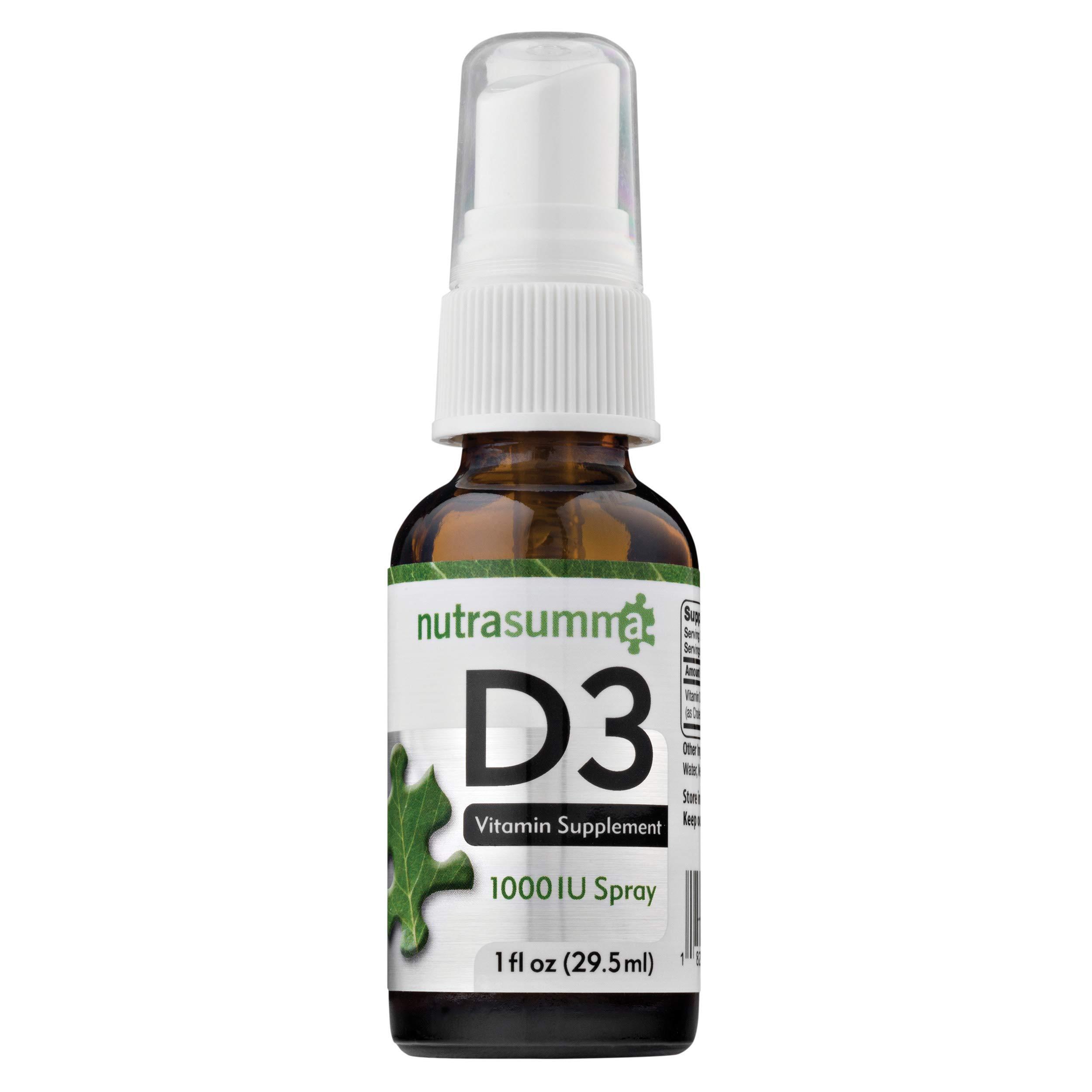 Nutrasumma Vitamin D-3 (Spray Delivery) - 1 oz