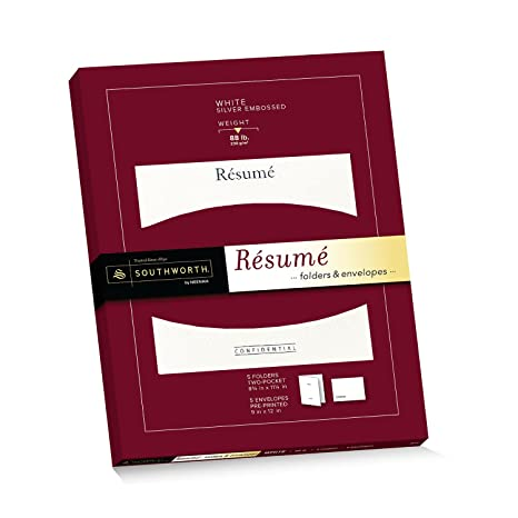 southworth exceptional resume foldersenvelopes packet 9 x 12 envelopes 875quot - Resume Paper Amazon