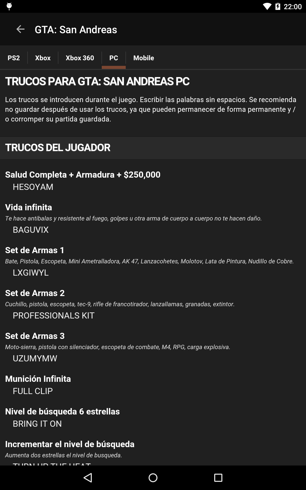 Cheats for GTA - Trucos para todos los juegos de Grand Theft Auto: Amazon.es: Appstore para Android