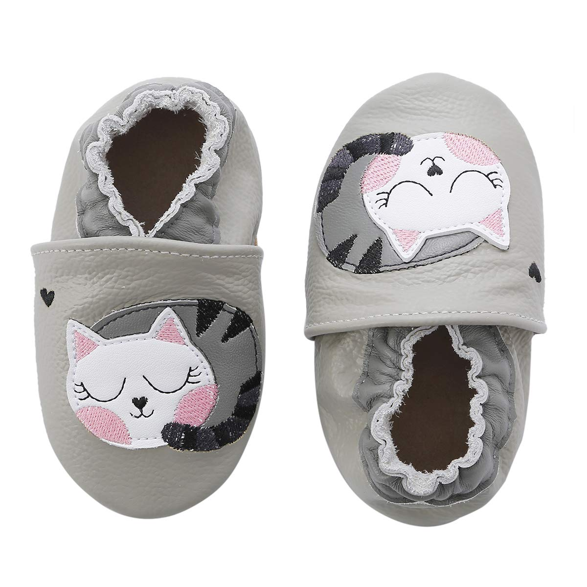 47d258064 Amazon.com | Unicorn Baby Moccasins Girl Soft Leather Toddler First Walker  Shoes 0-36 Months | Sneakers