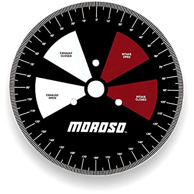"""Moroso 62190 11"""" Degree Wheel: Automotive"""